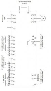Схема подключения Е3-8100