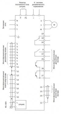 Схема подключения EI-9011