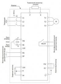 Схема подключения e2-mini-SP25L-ip65
