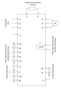 схема подключения  E2-MINI
