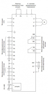 Схема подключения ЕI-P7012