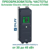 Schneider Electric Altivar Process ATV650