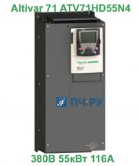 фото Schneider Electric Altivar 71 380В 55кВт 116А ATV71HD55N4