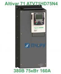 фото Schneider Electric Altivar 71 380В 75кВт 160А ATV71HD75N4