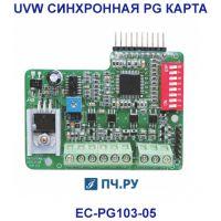 Фото UVW синхронной PG карты