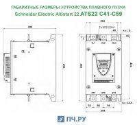 Габариты ATS22 C41 - C59