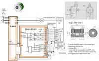 Схема подключения датчика вращения