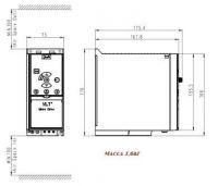 Danfoss VLT Micro Drive FC-051P1K5 132F0005 220В 1.5кВт 6,8А