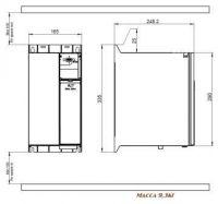 Danfoss VLT Micro Drive FC-051P22K 132F0061 380В 22кВт 43,0А