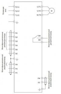 Схема подключения Е3-8100К