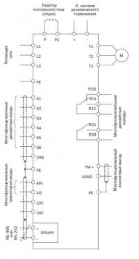Схема подключения Е2-8300