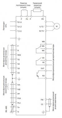 Схема подключения Е3-9100