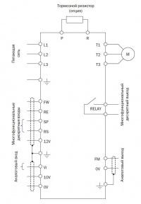схема подключения E2-MINI-003Н