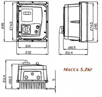 Весогабариты e2-mini-002Н-ip65