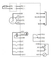 схема подключения  ATV12HU15M2