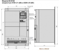 Весогабариты Е3-9100-007Н